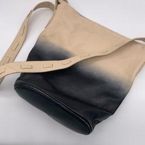 Kelsi Dagger Avery Ombré leather bucket crossbody